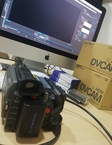 Digitalización de cintas mini dv / dvcam