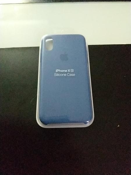 Funda silicona iphone xs, 100% original