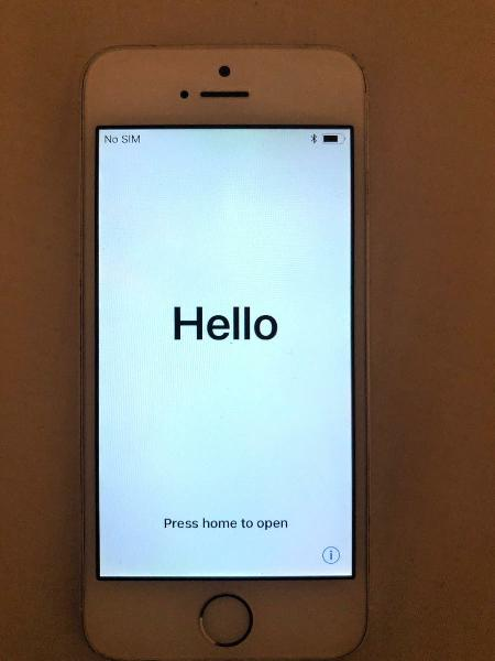 Iphone 5s plata 16gb