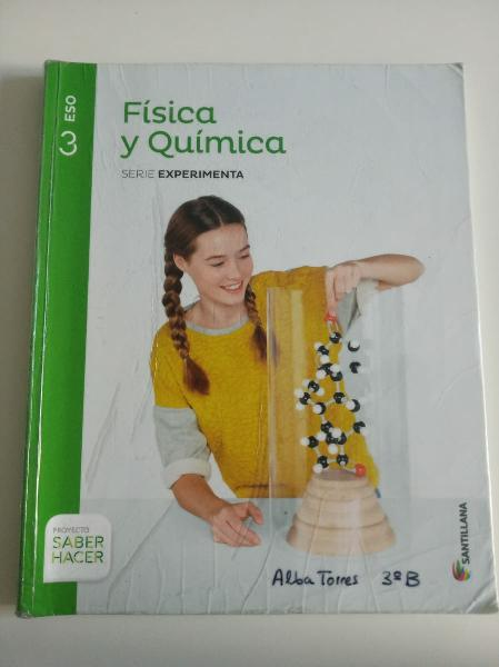 Libro física y química 3°eso- editorial santillana