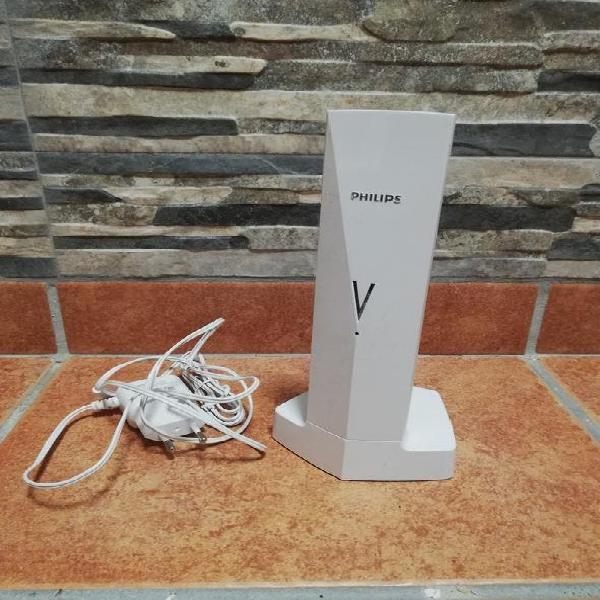 Teléfono inalámbrico philips v line blanco