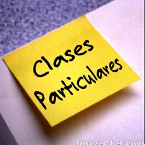 Clases particulares graduada