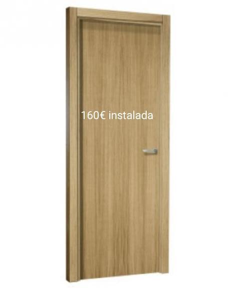 Instalación puertas blancas