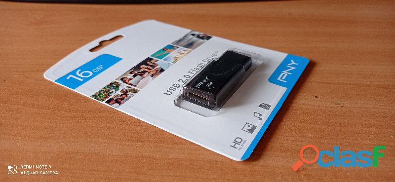 PENDRIVE MEMORIA, USB, 16 GB, PNY 2