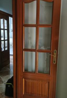 1 puerta de madera maciza - dispongo de 7 unidades