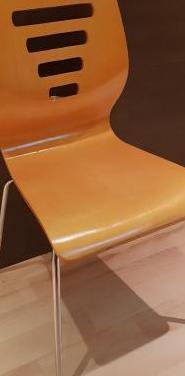 4 sillas de madera nuevas
