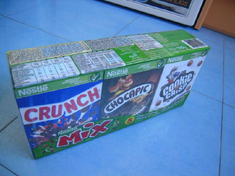 Cereales con chocolate mix nestlé