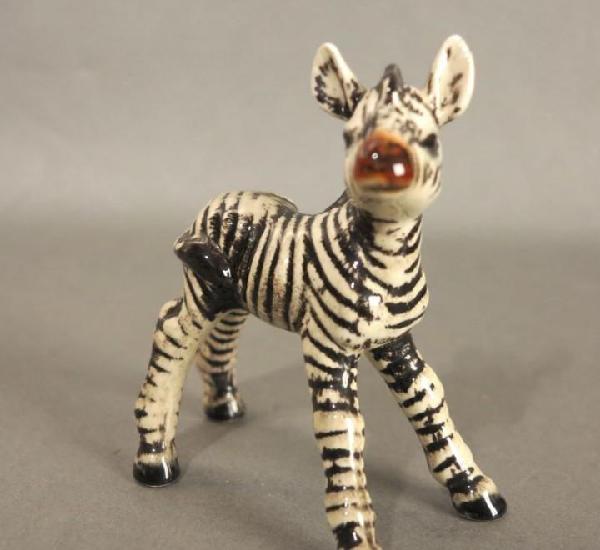 Figura de porcelana de göbel. cebra. 1970 - 1975