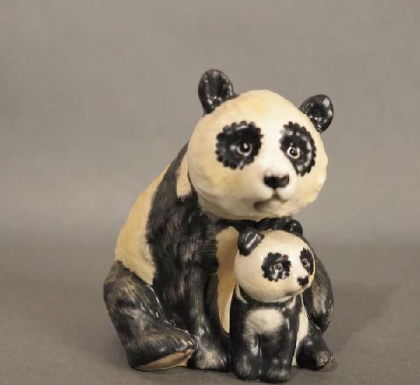 Figura de porcelana de göbel. panda. 1970 - 1975
