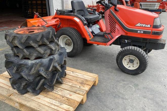 Mini tractor kubota aste a13