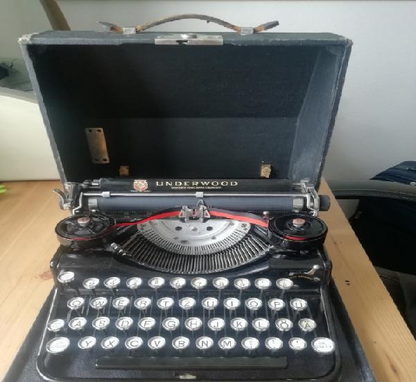 Máquina de escribir underwood portable