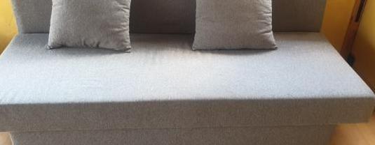 Sofá cama asarum, gris