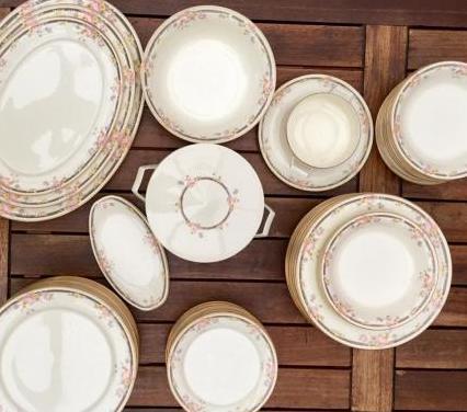 Vajilla de porcelana japonesa narumi