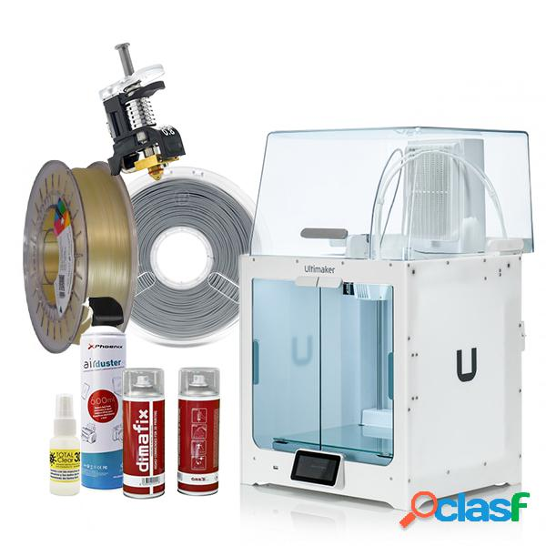 Pack ultimaker s5 + air manager + extras