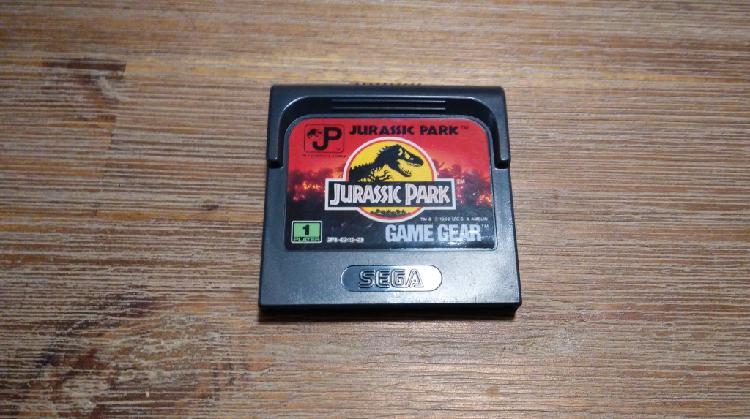 Jurassic park pal esp (solo cartucho)