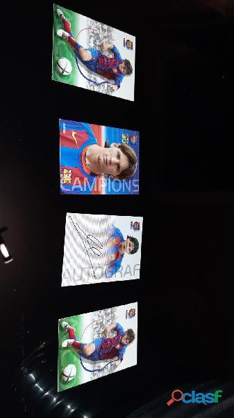 Cromos Leo Messi año Rookie 2004 2005