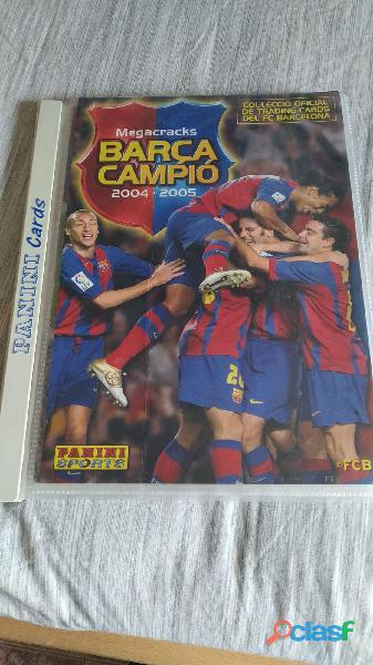 Cromos Leo Messi año Rookie 2004 2005 4