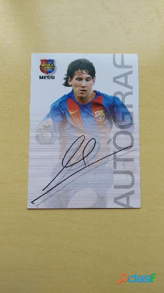 Cromos Leo Messi año Rookie 2004 2005 5