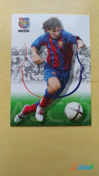 Cromos Leo Messi año Rookie 2004 2005 3