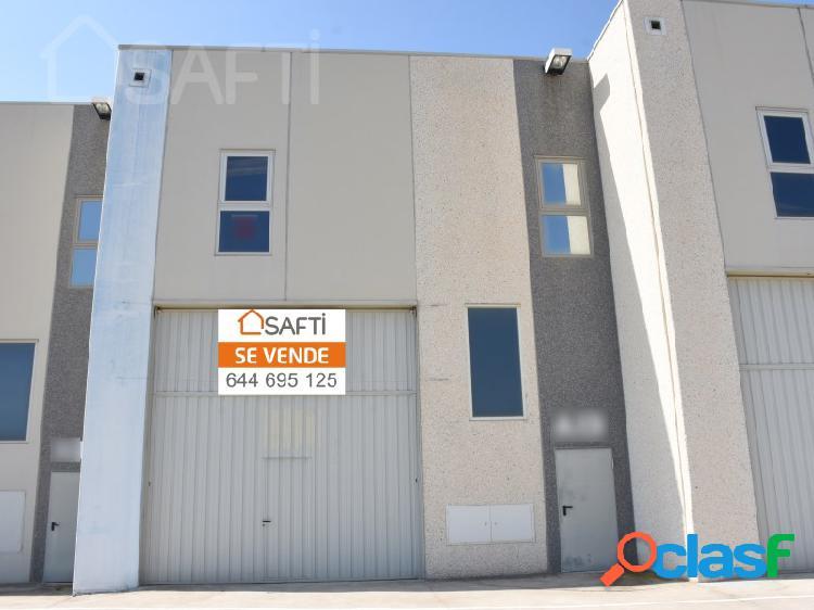 Safti pone a la venta una nave industrial de 287 metros cuadrados.