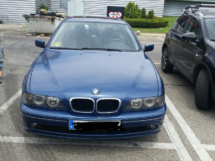 Bmw 520i 2002 gasolina, manual, nacional