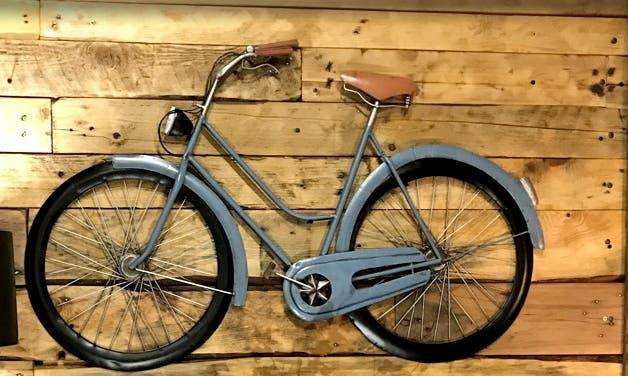 Bicicleta retro decoración