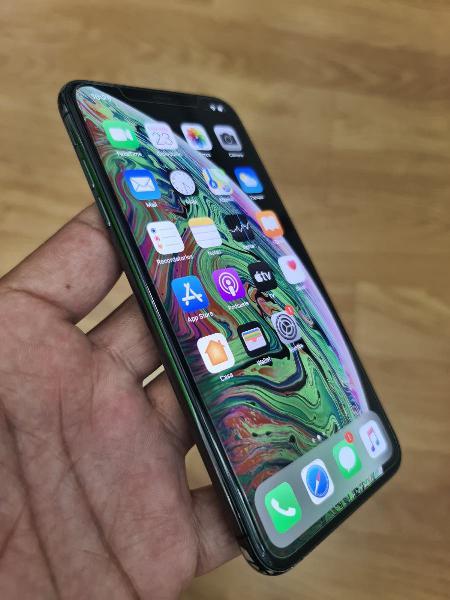 I phone xs max 256 gb condición (10/10)