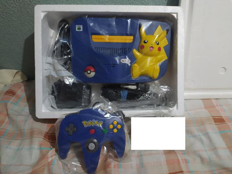 Nintendo 64 picachu