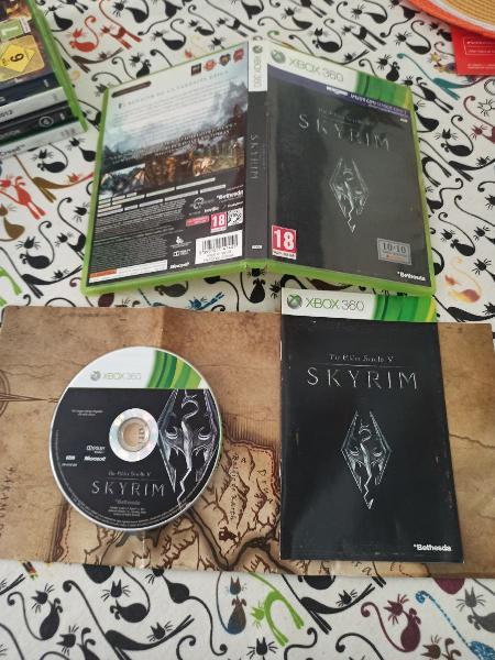 Skyrim xbox 360
