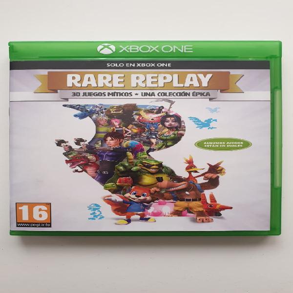 Xbox one - rare replay (castellano)