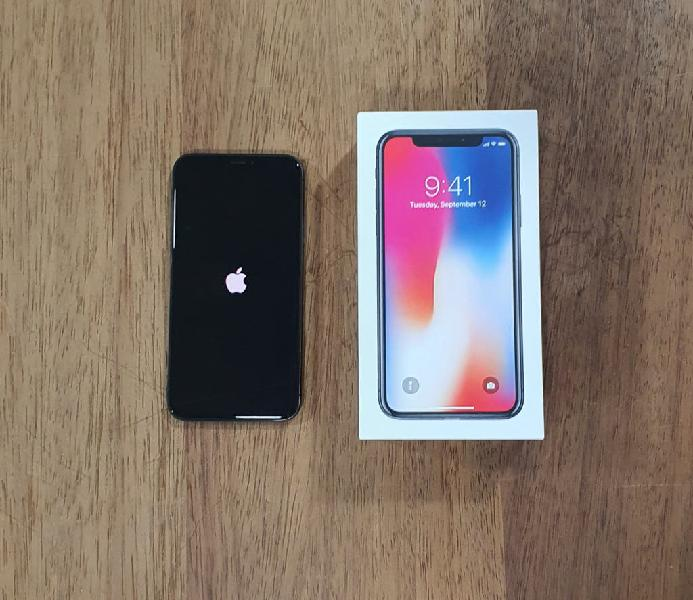 Iphone x 64gb negro leves marcas