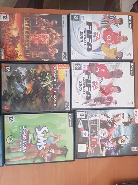 Lote pack juegos ordenador