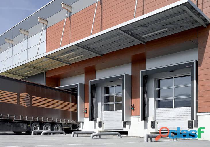 Puertas de entrada y garaje para el sector industrial 3