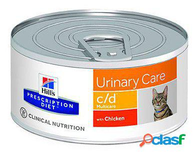 Hill's prescription diet feline c/d 156 gr