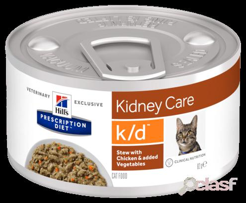 Hill's prescription diet™ k/d™ feline estofado con pollo y verduras