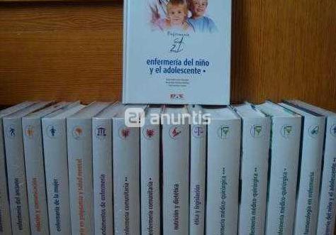 16 libros enfermeria sin abrir nuevos