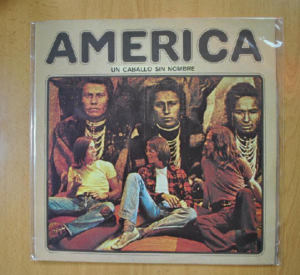 America - un caballo sin nombre - lp