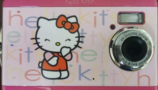 Cámara fotos digital hello kitty