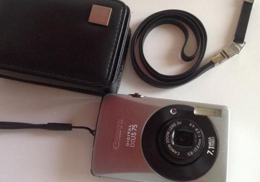 Camara canon ixus 75. digital. accesorios