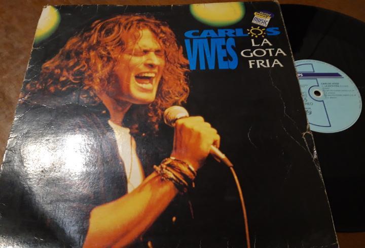 Carlos vives ?– la gota fria- maxi-españa-1993- philips