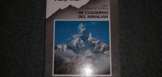 Libro. mi cuaderno del himalaya (1994)