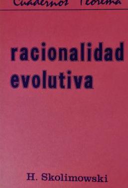 Libro de filosofia: Skolimowski