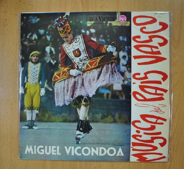 Miguel vicondoa - musica del pais vasco - lp