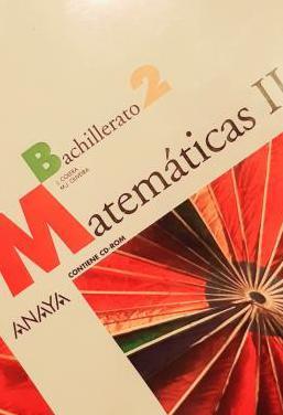 Matemáticas ii. bachillerato 2. anaya