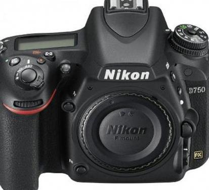 Nikon d750 (producto nuevo)