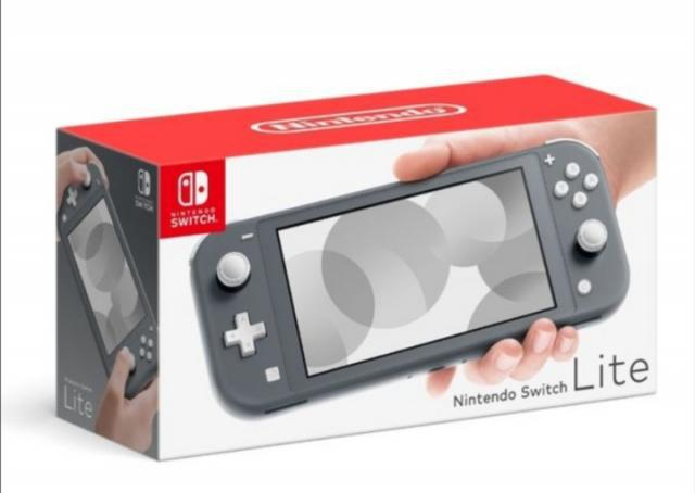 Nintendo switch lite nueva negra