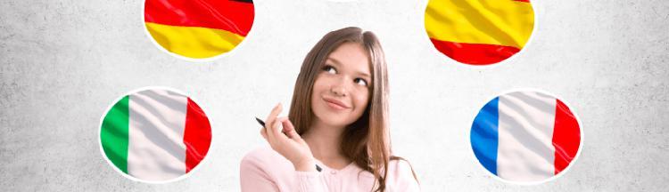 Oferta cursos de ingles e italiano