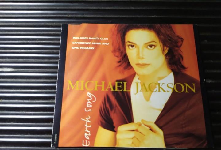 Portada caratula single michael jackson earth song