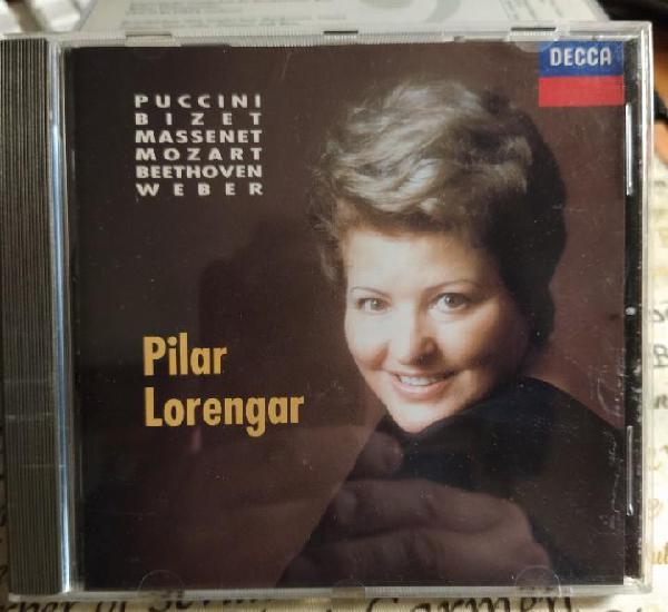 Pilar lorengar - puccini - bizet - massenet - mozart -