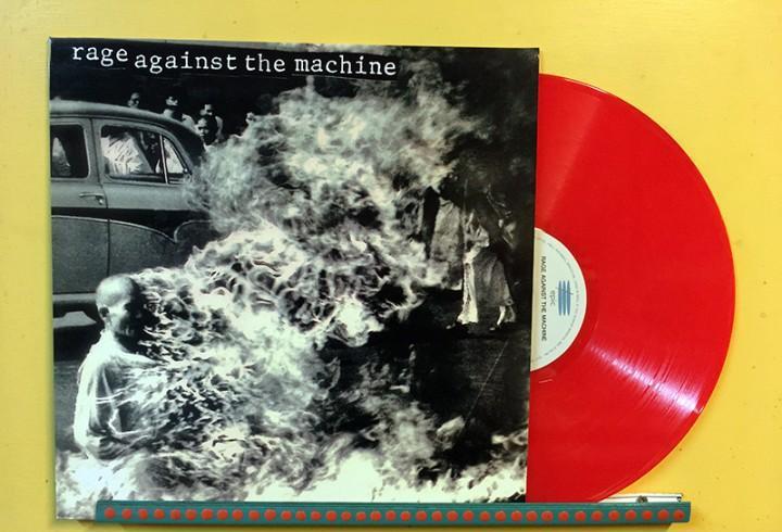Rage against the machine lp vinilo color rojo muy raro